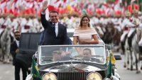 Brezilya'da Jair Bolsonaro, düzenlenen törenle yeni devlet başkanı olarak göreve başladı