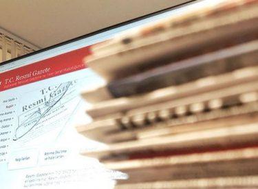 Resmi Gazetede Yayımlanan Atamalar
