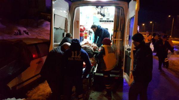 4 kişilik aile sobadan sızan gazla zehirlendi