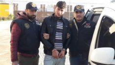 Terör örgütüne elaman kazandırmaya çalışan terörist yakalandı