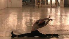 Ayasofya Müzesi'nde bale figürü yapan kadına ilişkin inceleme başlatıldı