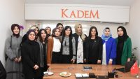 Sarıeroğlu, Aksaray KADEM Temsilciliğini Ziyaret Etti