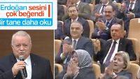 Amir Ateş, Erdoğan'ı seslendirdiği eser ile etkiledi