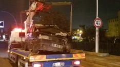 Ankara'da 5 araç birbirine girdi