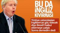 Boris Johnson Türkiye söylemlerini inkar etti