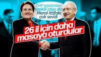 CHP ve İP ittifakında son durum