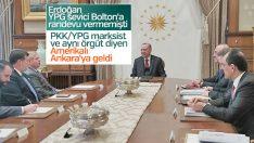 Cumhurbaşkanı Erdoğan ABD'li senatörü kabul etti