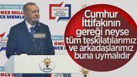 Cumhurbaşkanı Erdoğan: Halka hizmet Hakka hizmettir