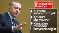 Cumhurbaşkanı Erdoğan'dan Rus gazetede Suriye mesajları