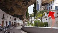 Dev kayalığın altına 3 bin nüfuslu köy kurdular