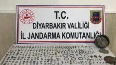 Diyarbakır'da tarihi eser operasyonu