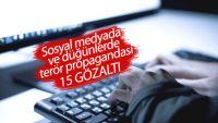 Düğünlerde PKK propagandası yapan 9 kişi yakalandı