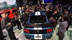 En hızlı ve en güçlü Mustang Detroit'i salladı