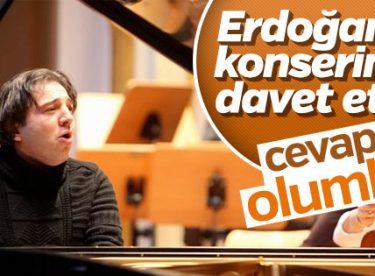 Erdoğan, Fazıl Say'ın konserine katılmayı planlıyor