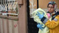 Eşini ve bebeğini döven babayı serbest bıraktılar