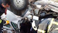 Nevşehir'in Avanos ilçesinde Trafik Kazası