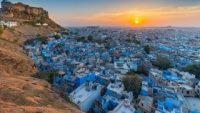 Hindistan'ın şirinler köyü Jodhpur