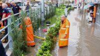 Sağanak Yağış Osmaniye'de Hayatı Felç Etti