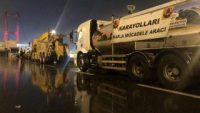 İstanbul'da yollar için buzlanma önlemi