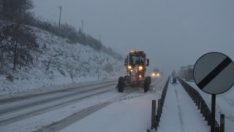 İzmir-Ankara karayolu ulaşıma kapalı