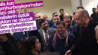 İzmir'de Cumhurbaşkanı Erdoğan'a sevgi seli