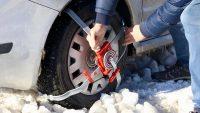 Karlı ve buzlu yollar çelik örümcek ile aşılacak