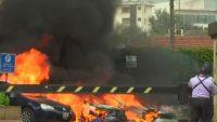 Kenya'da çifte patlama ve silah sesleri