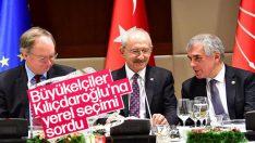 Kılıçdaroğlu İsveç Büyükelçisi'nin davetine katıldı