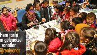 Öğrenciler müze ziyaretiyle tarihi yolculuğa çıkıyor