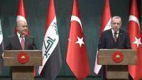 Recep Tayyip Erdoğan-Berhem Salih ortak basın toplantısı