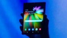 Samsung, katlanabilir telefonu hakkında açıklama yaptı