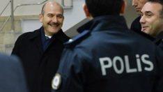 Süleyman Soylu'dan polis merkezine sürpriz ziyaret