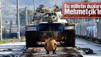 Suriye sınırına sevkiyatlar hız kesmiyor