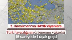 Türk hava sahası her yıl üzerine koyuyor