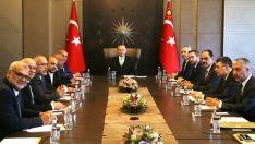 Erdoğan, İsrail Parlamentosu üyesi Arap milletvekillerini kabul etti