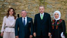 Cumhurbaşkanı Erdoğan, Ürdün Kralı II. Abdullah ile görüştü