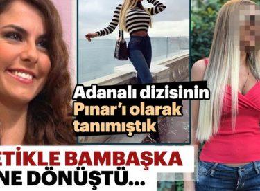 Adanalı dizisinin Pınar'ı Tuğçe Özbudak'ın inanılmaz değişimi…