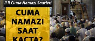 İstanbul'da cuma namazı saat kaçta kılınacak? İşte Diyanet'in yayınladığı cuma namazı saati
