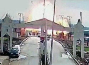 Çobanbeyli sınır kapısının Suriye tarafında patlama