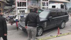 Şişli'de polisle şüpheliler arasında çatışma