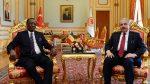 TBMM Başkanı Şentop, Çad Cumhurbaşkanı ile Görüştü