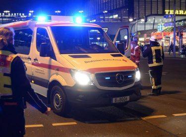 Berlin'de Alçak Saldırı