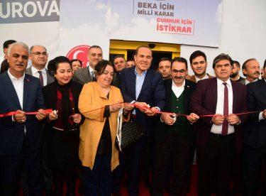 Cumhur İttifakı Çukurova ve Sarıçam'da Seçim Bürolarını Açtı
