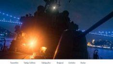 ABD Deniz Kuvvetleri'nden İstanbul paylaşımlı mesaj