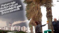 Antalya'da eğitime 1 gün ara