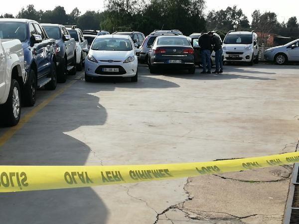 Aydın'da bir kişi oto galerisini silahla bastı