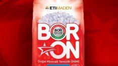 Türkiye'nin yerli ve milli temizlik ürünü BORON'a yüzde 10 indirim