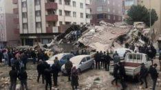 Binanın çökmesinin ardından mahalle muhtarından açıklama
