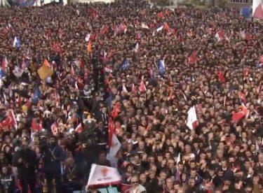 Cumhurbaşkanı Erdoğan Kastamonu'da konuşuyor