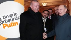 Cumhurbaşkanı Erdoğan, Putin tarafından uğurlandı
